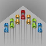 Car racing concept Stock Photography