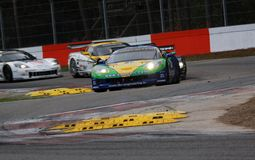 Car Racing(Corvette Z06,FIA GT) Stock Photography