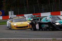 Car Racing(Corvette Z06,FIA GT). Corvette Z06;FIA GT Round.8=FINAL: in BELGIUM,Circuit Zolder; October 25. 2009. GT1 Class 2nd. No.4.Anthony KUMPEN(BEL)/Mike Stock Photos