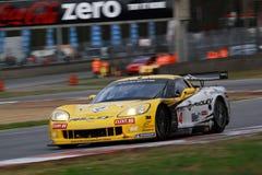 Car Racing(Corvette Z06,FIA GT). Corvette Z06,FIA GT Round.8=FINAL: in BELGIUM,Circuit Zolder,October 25. 2009. GT1 Class 2nd. No.4.Anthony KUMPEN(BEL)/Mike Stock Photography