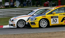 Car Racing(FIA WTCC) Royalty Free Stock Images