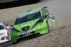 Car Racing,FIA WTCC. Car Racing,SEAT,FIA WTCC race:in Holland; Circuit Zandvoort, May 06. 2007 Stock Photography