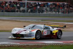 Car Racing(Ford GT,FIA GT ). Ford GT,FIA GT Round.8=FINAL: in BELGIUM,Circuit Zolder; October 25. 2009. GT1 Class No.40 Bas LEINDERS(GER)/Renaud KUPPENS(GER),# Royalty Free Stock Photography