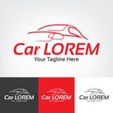 Car Racing Icon Inspiration Stock Photo
