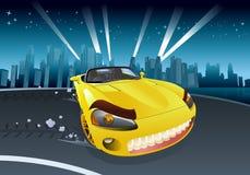 Car racing Royalty Free Stock Image