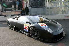 Car Racing,Lamborghini Murcielago  Royalty Free Stock Photo