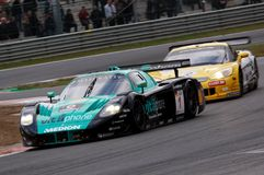 Car Racing(Maserati MC12,FIA GT) Stock Image