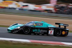 Car Racing(Maserati MC12,FIA GT) Royalty Free Stock Photo