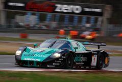 Car Racing(Maserati MC12,FIA GT) Stock Photos