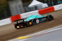 Car Racing(Maserati MC12,FIA GT) Royalty Free Stock Photos