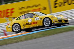 Car Racing,Porsche 911 GT3 Cup Stock Photo