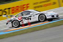 Car Racing,Porsche 911GT3 Cup Royalty Free Stock Photo