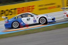 Car Racing,Porsche 911GT3 Cup Stock Photo