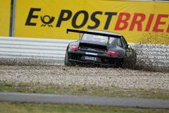 Car Racing,Porsche 911GT3 Cup Stock Image