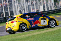 Car Racing(SEAT Leon TDI,FIA WTCC) Stock Images