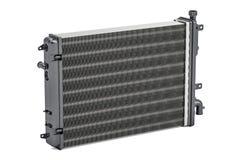Car radiator closeup, 3D rendering Royalty Free Stock Photo