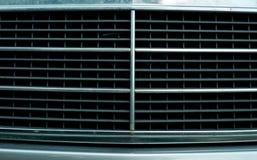 Car radiator grid. Closeup of the car radiator grid Stock Photos