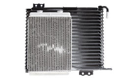 Car radiators. Various automobile radiators for engine cooling systems for air conditioning, for heating the passenger compartment, for cooling the oil in an Royalty Free Stock Photography