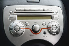Car radio royalty free illustration