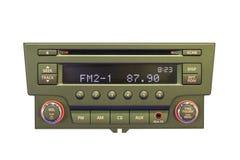 Car radio control panel Royalty Free Stock Photo
