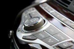 Car radio controls Royalty Free Stock Photos