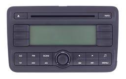Car radio panel isolated stock photography