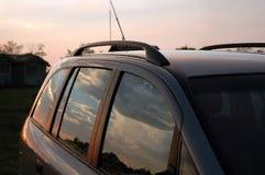 Car after rain Stock Photo