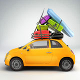 Car ready for travel Royalty Free Stock Photography