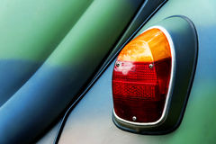 Car rear light. Rear light of a classic car Royalty Free Stock Photo