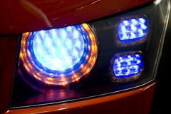 Car rear light. Rear light of a modern car Royalty Free Stock Photography