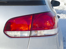 Car rear light closeup Stock Photo