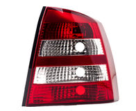 Car rear light. Sample of a red rear light Stock Photography