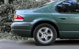 Car Rear Part Stock Photo