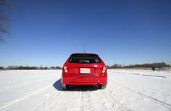 Car Rear View Royalty Free Stock Image