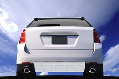Car Rear View Stock Image