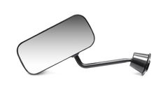 Car rear-view mirror Royalty Free Stock Images