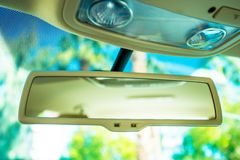 Car Rear View Mirror Stock Photos