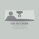 Car Recorder Graphic Symbol Royalty Free Stock Photo
