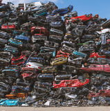 Car recycling Royalty Free Stock Photography