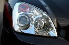 Car reflector headlamp Stock Images