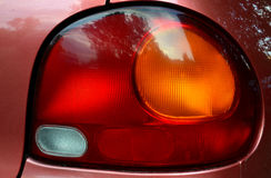 Car reflector headlamp Stock Image