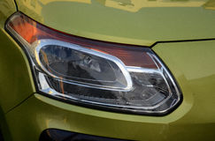 Car reflector headlamp Stock Images