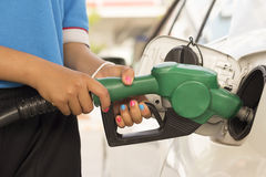 Car refuel Royalty Free Stock Image