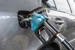 Car refuel Stock Images