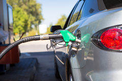 Car refuel Stock Photos