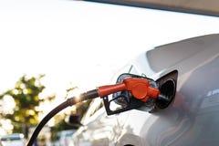 Car refuel Stock Images