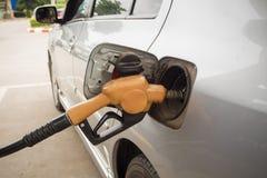 Car refueling Stock Image