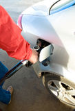 Car refuelling Royalty Free Stock Photos