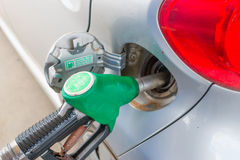 Car refuelling Stock Images