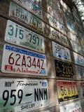 Car Registration plates Royalty Free Stock Photo